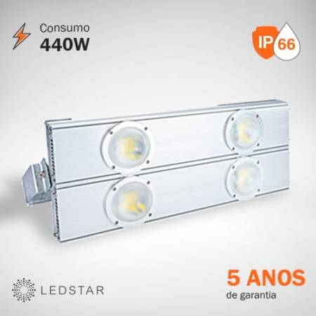 Projetor LED 440W LEDSTAR High Pole