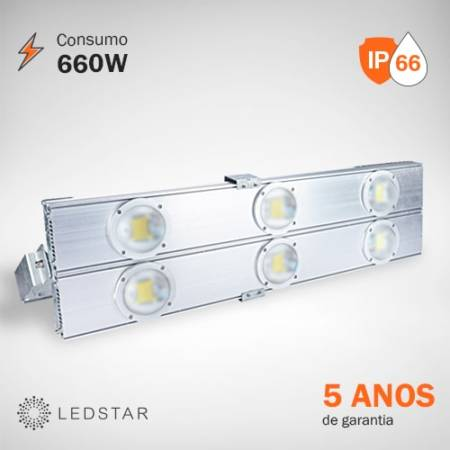 Projetor LED 660W LEDSTAR High Pole