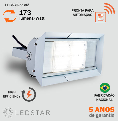 Luminária Industrial LED High Bay v8.5 HE