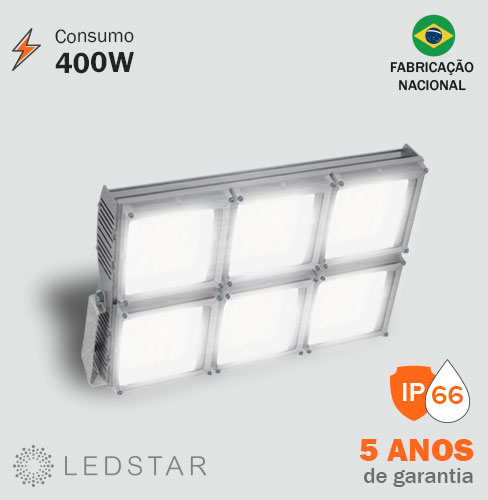 Projetor LED 400W High Pole 6.1