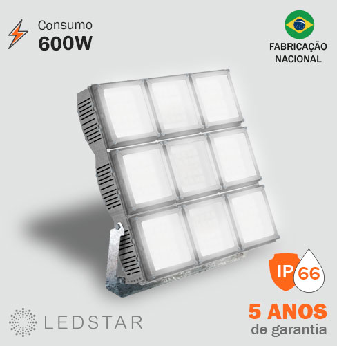 Projetor LED 600W High Pole 6.1